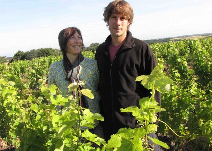 Coralie et Damien Delecheneau vignerons à Amboise